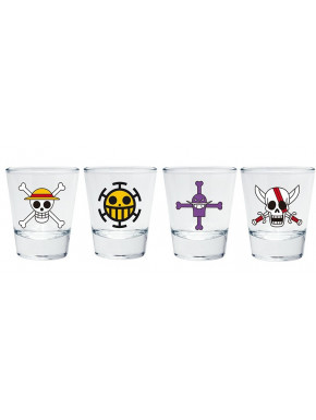 Vasos Chupito One Piece Iconos