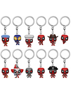 Minifigura Sorpresa Deadpool Marvel Funko