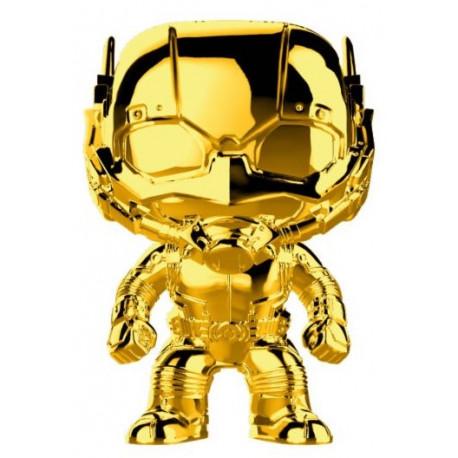 Funko Pop! Ant-Man Cromado Oro Marvel