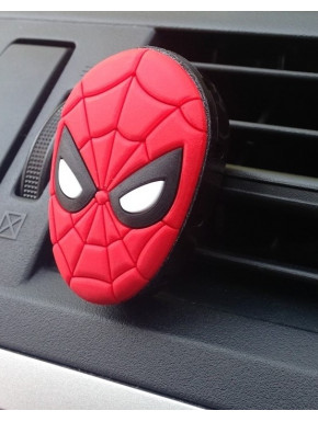 Ambientador coche rejilla Spiderman Marvel