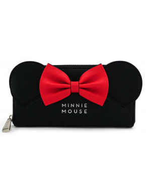 Cartera Loungefly Disney Minnie Mouse Black