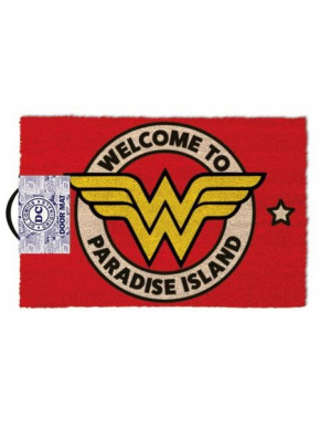 Felpudo Wonder Woman Paradise Island