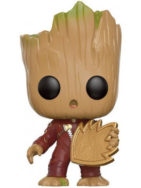 Funko Pop! Groot con Escudo Guardianes de la Galaxia 2