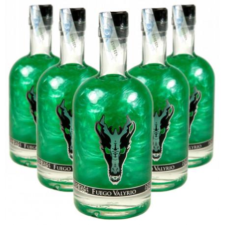 Caja 6 botellas Fuego Valyrio Juego de Tronos