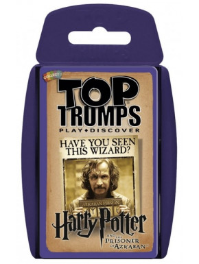 Juego de cartas Harry Potter Top Trumps El Prisionero de Azkaban