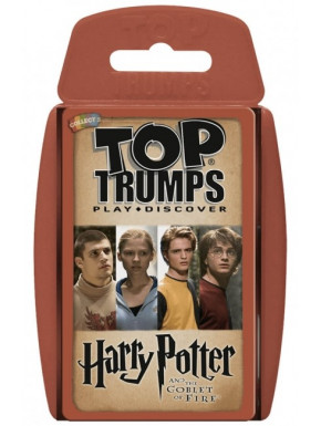 Juego De Cartas Harry Potter Top Trumps Solo 5 50 Lafrikileria Com