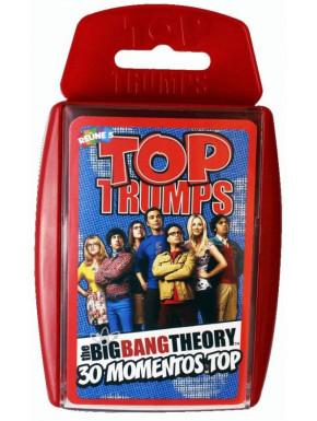 Juego de cartas Big Bang Theory Top Trumps