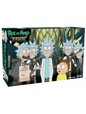 Juego de Cartas Rick & Morty Rick-Counters of the Rick Kind