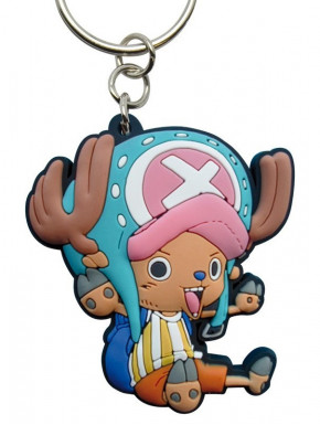 Llavero de caucho Chopper One Piece