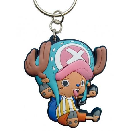 Llavero de caucho Luffy One Piece