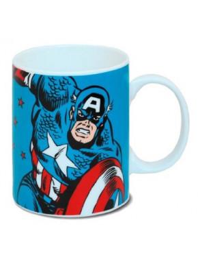Taza Capitan América Marvel Classic