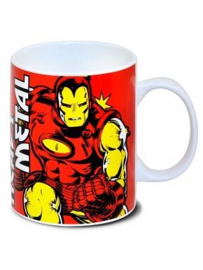 Taza Iron Man Marvel Classic