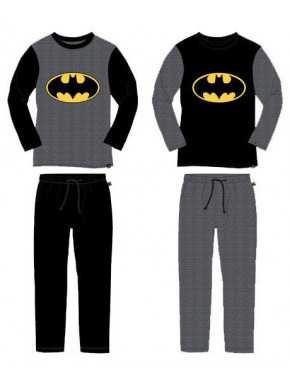 Pijama Largo Batman Logo DC Comics