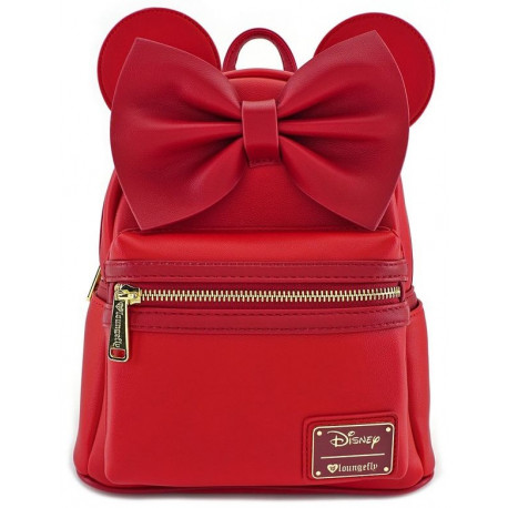b8aef0494b5 Bolso mochila Loungefly Minnie Mouse Disney Red