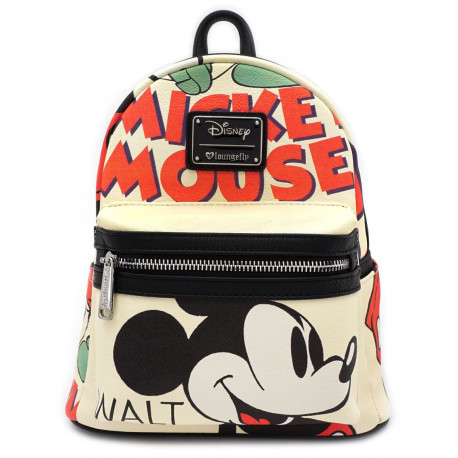 Bolso mochila Mickey Mouse Disney Classic Loungefly