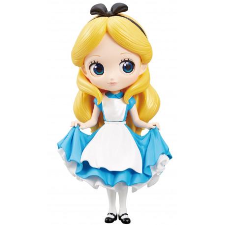 Figura Alicia Disney Banpresto Q Posket 14 cm