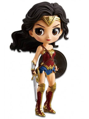 Figura Wonder Woman Banpresto Q Posket 14 cm