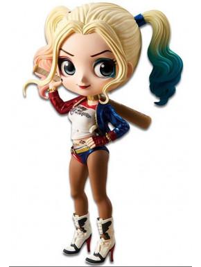 Figura Harley Quinn Banpresto Q Posket 14 cm