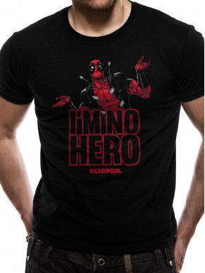 Camiseta Deadpool Im No Hero