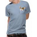 Camiseta Gremlins Gizmo Bolsillo
