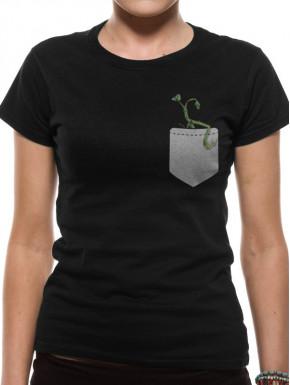 Camiseta Chica Animales Fantásticos Pickett Bolsillo