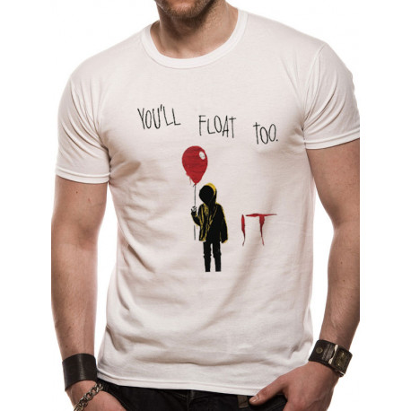 Camiseta It Tú También Flotarás