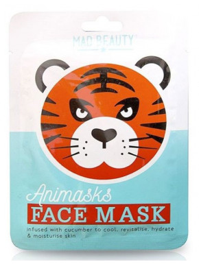 Mascarilla facial Tigre Animask Mad Beauty