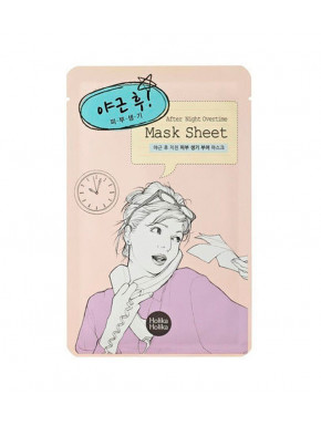 Mascarilla facial After Night Overtime HOLIKA HOLIKA