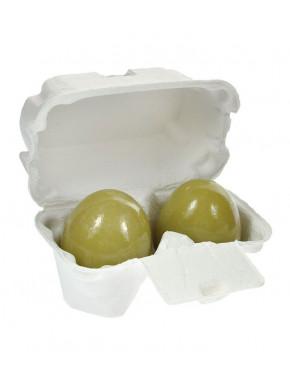 Limpiador Facial de Té Verde con forma de huevo HOLIKA HOLIKA