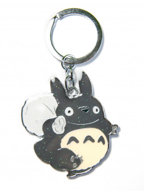 Llavero metal Totoro con saco de semillas