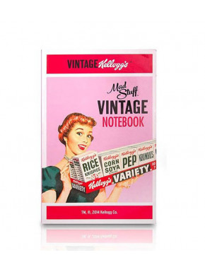 Pack de 3 Cuadernos de notas  A7 Kellogg's Vintage 1970's