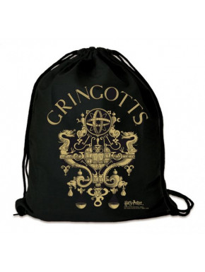 Bolsa de tela Gringotts Harry Potter