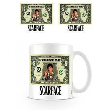 Taza Scarface Dolar Bill
