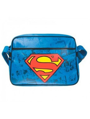 Bolso Bandolera Retro Logo Superman