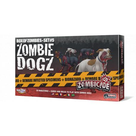 Expansion Dogz Zombicide Perros Zombi Por 24 90 Lafrikileria Com