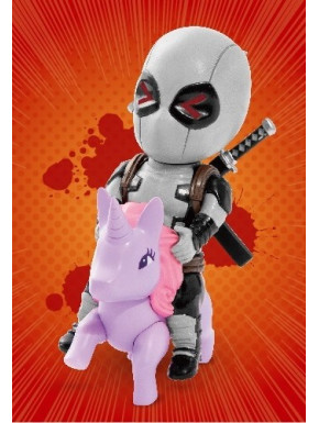Figura Deadpool X-Force Mini Egg Attack Marvel 9 cm
