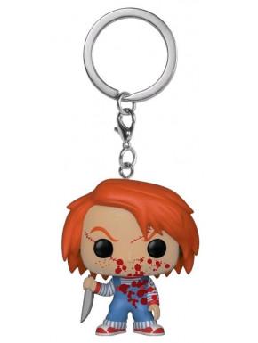 Llavero mini Funko Pop! Chucky Sangriento