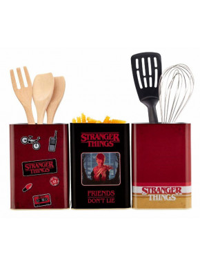 Set 3 Botes Retro Logo Stranger Things