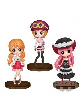 Pack de Figuras Nami Koala y Perhona One Piece Q Posket 7cm
