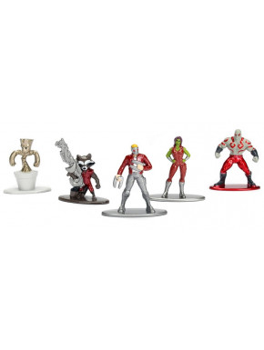 Pack de 5 Figuras Guardianes de la Galaxia