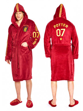 Albornoz polar Quidditch Harry Potter con Capucha