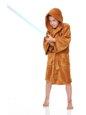 Albornoz polar Star Wars Jedi con capucha para niños