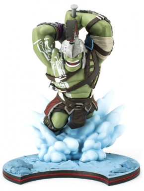 Figura Hulk Thor Ragnarok Marvel Q-Fig 12 cm