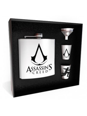 Set Petaca y Vasos Assassins Creed Deluxe