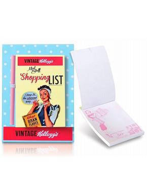 Lista de Compra Magnética Kellogg's Vintage 50's