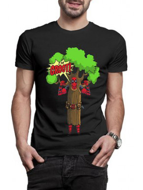 Camiseta Deadpool I Am Groot