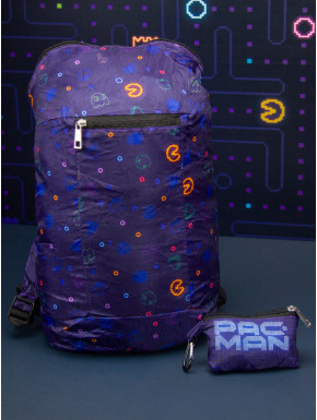 Mochila Plegable Pac-Man Retro