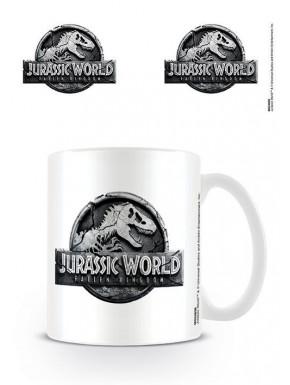 Taza Jurassic World: El Reino Caído Logo