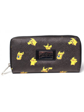 Cartera Billetera Pikachu Pokemon