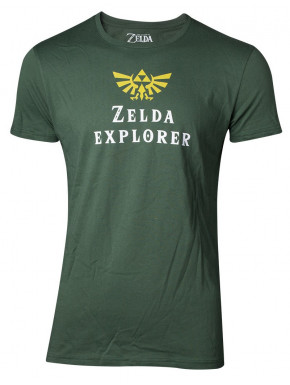 Camiseta Zelda Explorer
